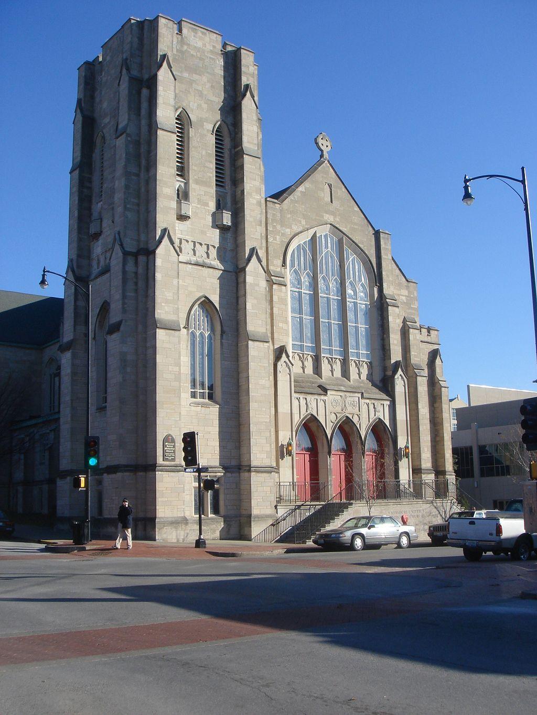 Missouri United Methodist Church was built in 1930.