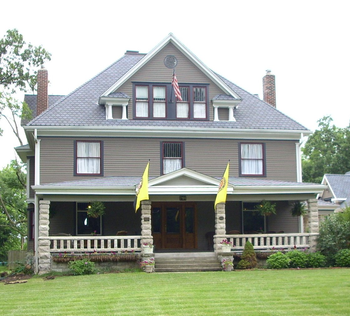 The John N. and Elizabeth Taylor House was built arounc 1909 and is one of the more impressive homes in Columbia.