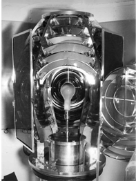 View of 200-Watt Fresnel light, 1939