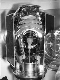 View of 200-Watt Fresnel light, 1939