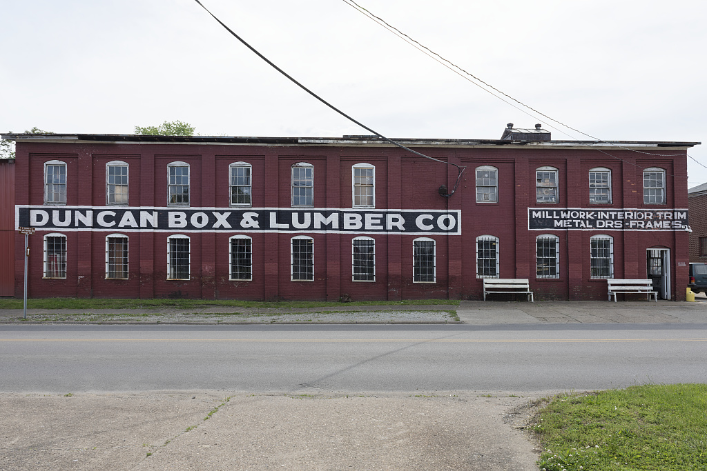The Duncan Box & Lumber Co. operated from the same brick building for its entire 120-year history. Image courtesy of the Library of Congress.