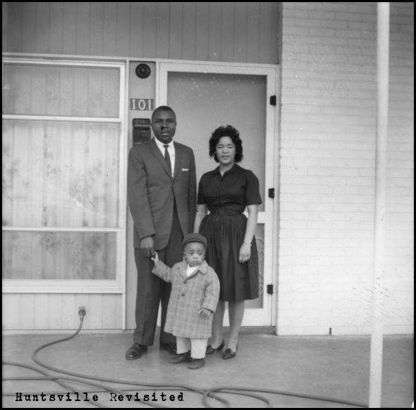 Rev. Bell and his family at their home at 101 Whitney Ave.