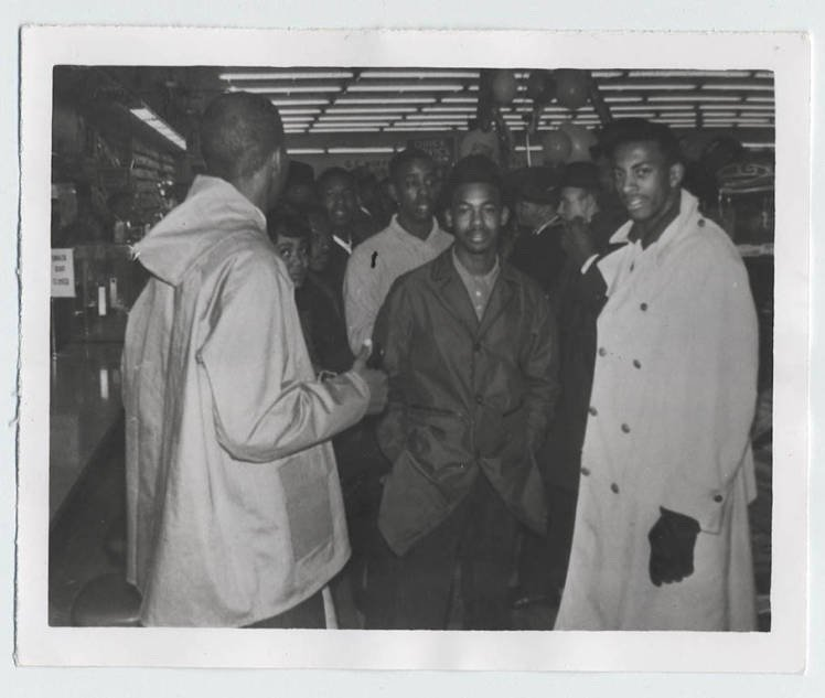 Photo from Jan. 31, 1962 sit-in at Woolworth's