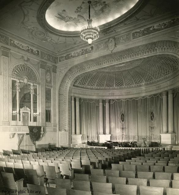 Madison Theater interior (date unknown).