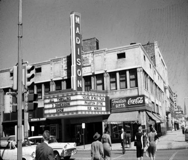 1953 Photo of Peoria's Madison Theater