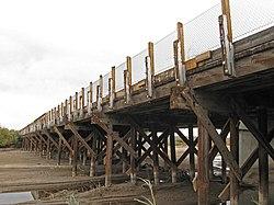 Rio Grande Bridge at Radium Springs and All of Its Glory
