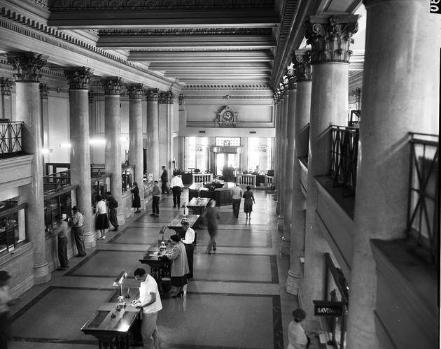 Lobby of the First National Bank Building