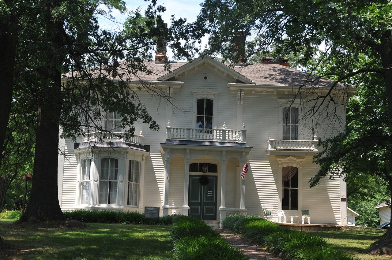 The David Guitar House is a historic pre-Civil War house that is listed on the National Register of Historic Places.