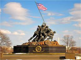 The US Marine Corp Memorial