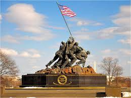 The US Marine Corp Memorial