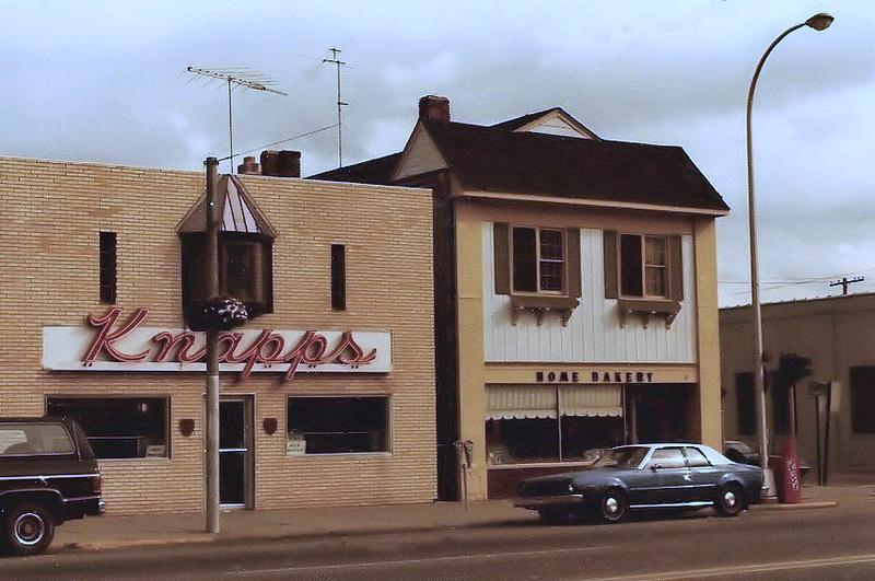 Rollin Sprague building, west elevation, 1977.