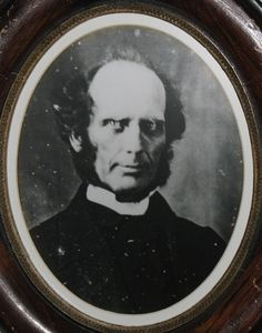 Reverend Charles G. Finney was Almira Porter Barnes' theology professor at Oberlin College. He had a profound impact on her time in Oberlin and also taught Porter Barnes' nephews.