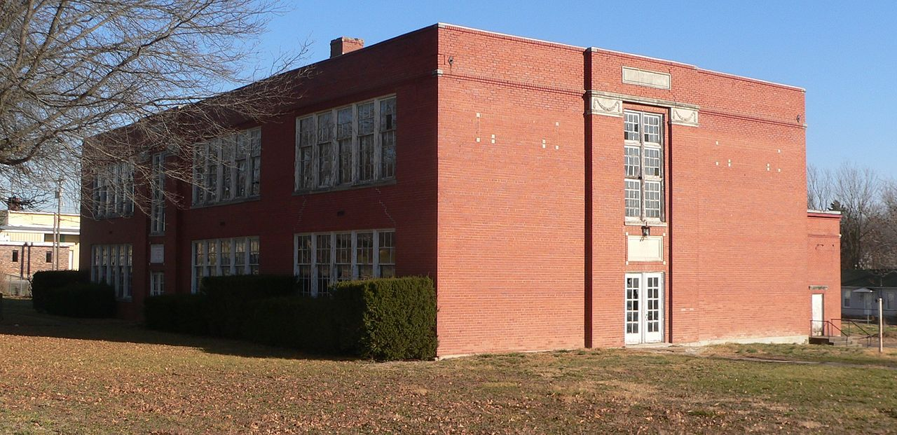 The old George Washington Carver School was built in 1937 and dedicated by Carver.