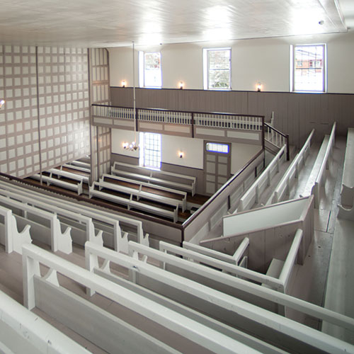 Meeting House Internal Balcony
