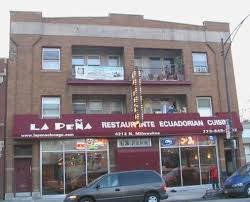 Location of the restaurant on Milwaukee Ave.
