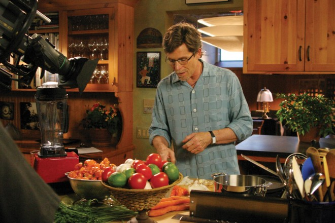 "Picture of Rick Bayless from his popular PBS television show ""Mexico: One Plate at a Time.""
