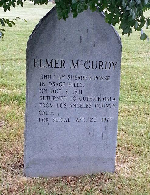 Elmer McCurdy Grave