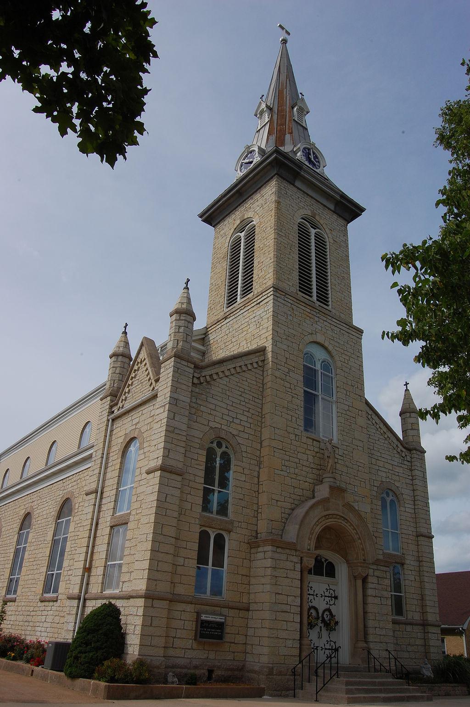 St. Joseph's Church was built in 1848.