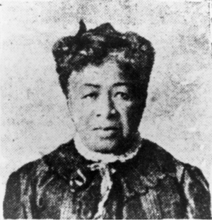 The only portrait of Lucy Stanton