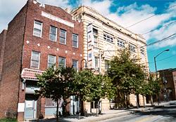 Buildings on Auburn Avenue in the Sweet Auburn Historic District