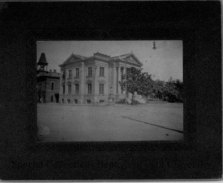 The library circa 1904