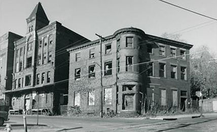 Eberhardt & Ober Brewery Before Its Restoration (circa 1930s)