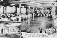 Interior view of The Top Hat/Club Beautiful (now The Royal Peacock) in 1939.