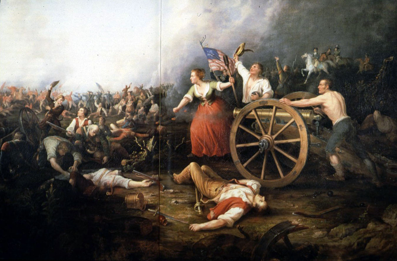 Rendition of Molly Pitcher