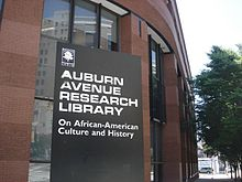 Auburn Avenue Research Library on African American Culture and History