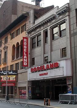 The Roseland Ballroom.