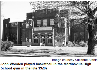 Official picture of the gym back in the 1920s