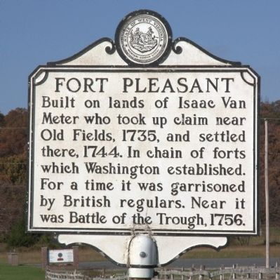 Fort Pleasant West Virginia Historical Marker