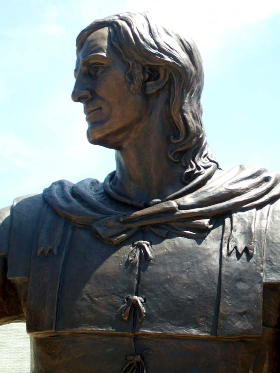 The Hermann statue was dedicated in 2009.