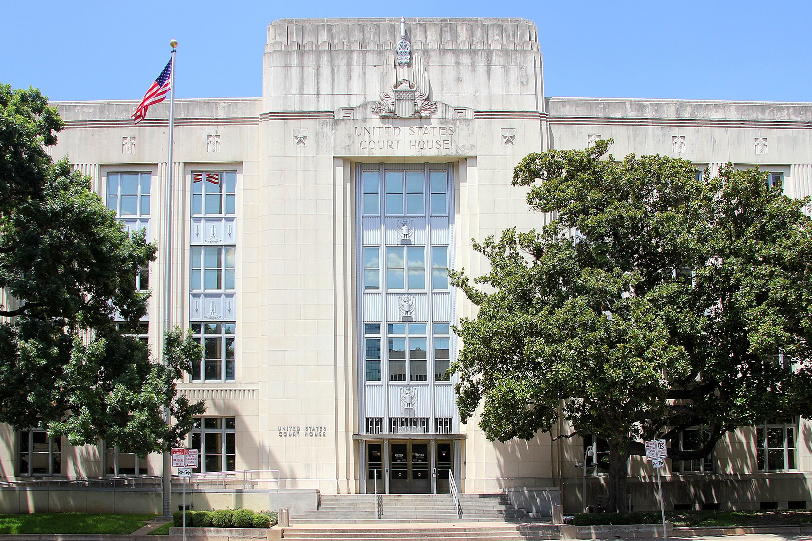 The historic United States Courthouse in Austin, Texas (1936)