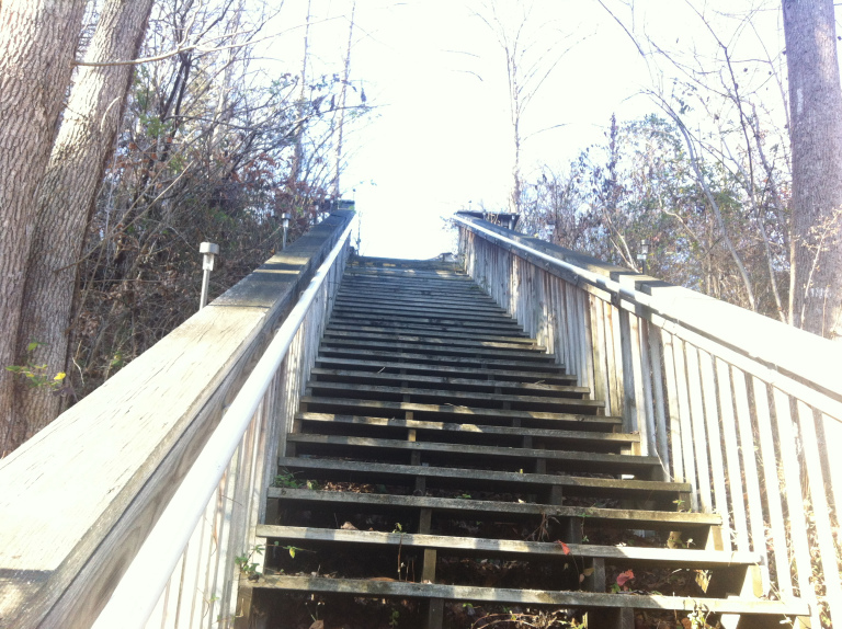 The second level of steps