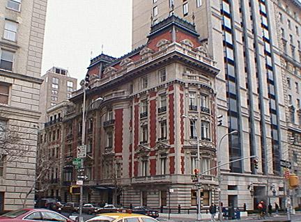 The Fifth Avenue facade