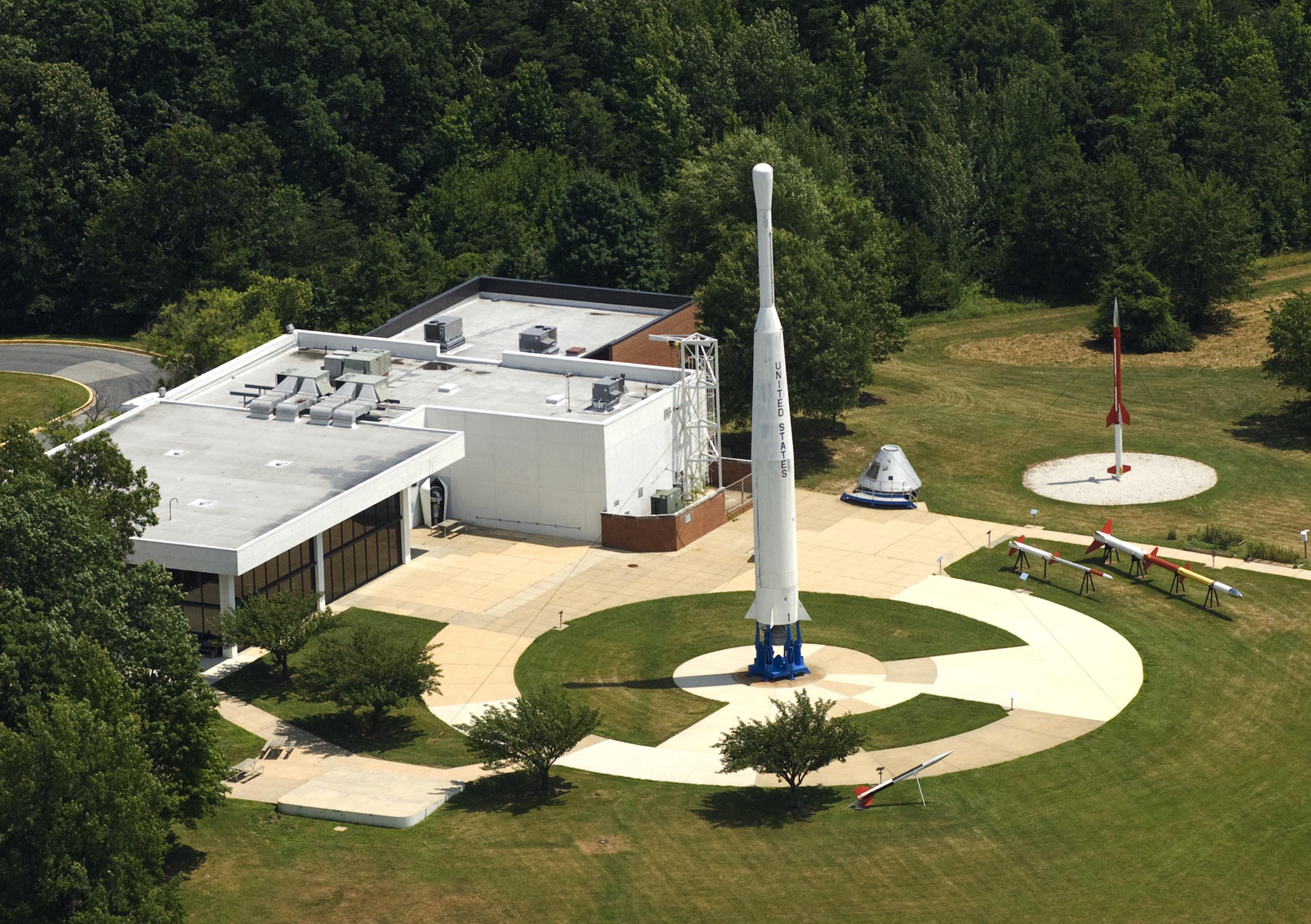 Goddard Space Flight Center's visitor's center.