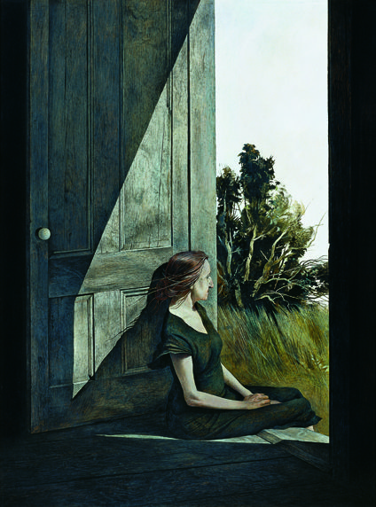 One of numerous works that featured Wyeth's friend, Christina.