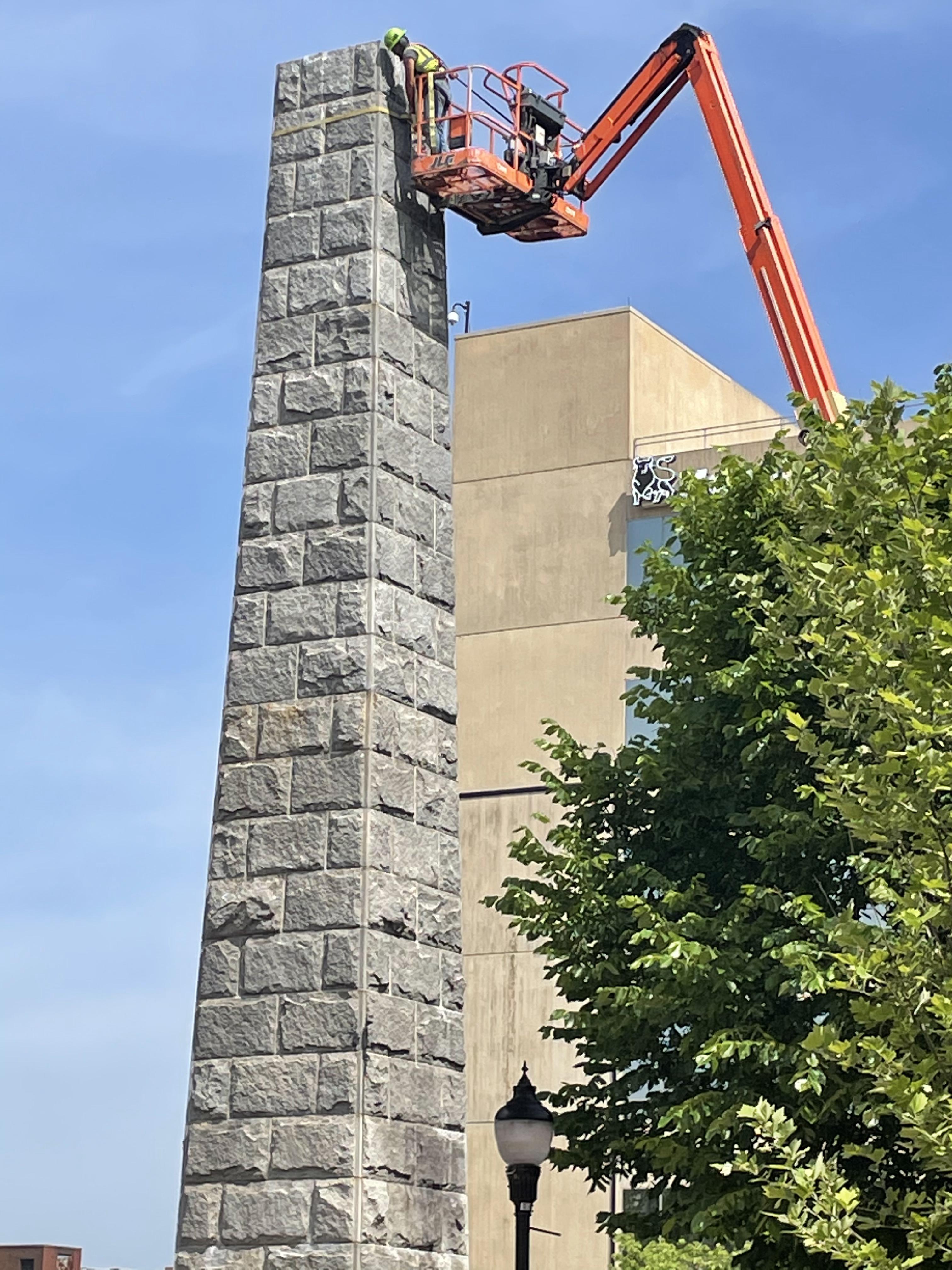Sky, Tree, Building, Brickwork