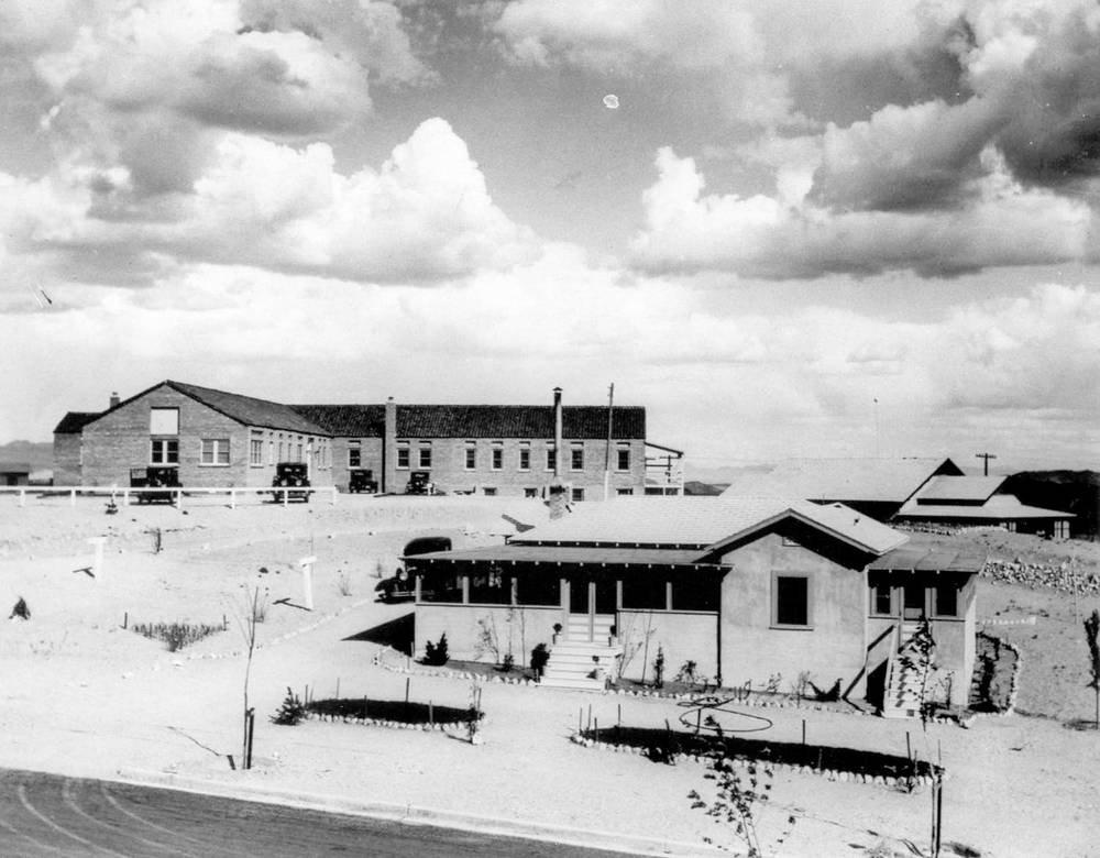 Six Companies Hospital, circa 1931.