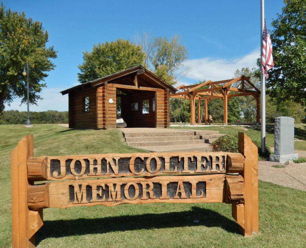 The John Colter Memorial was established in 2003.