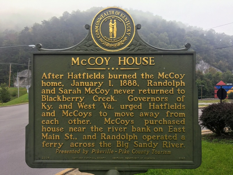 McCoy House historic marker