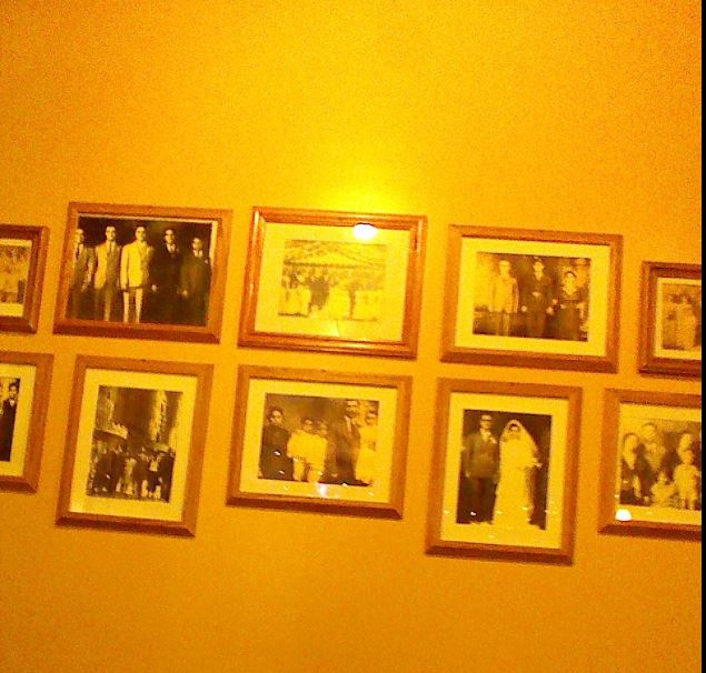 Pictures which adorn the walls of the home