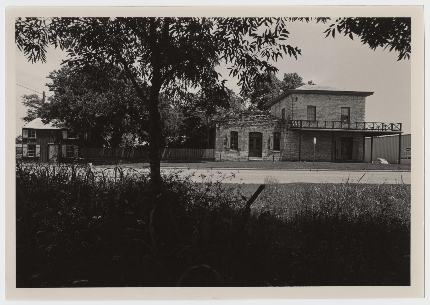 Hofheintz-Reissig Residence and Store - larger view of property (date unknown) via University of North Texas