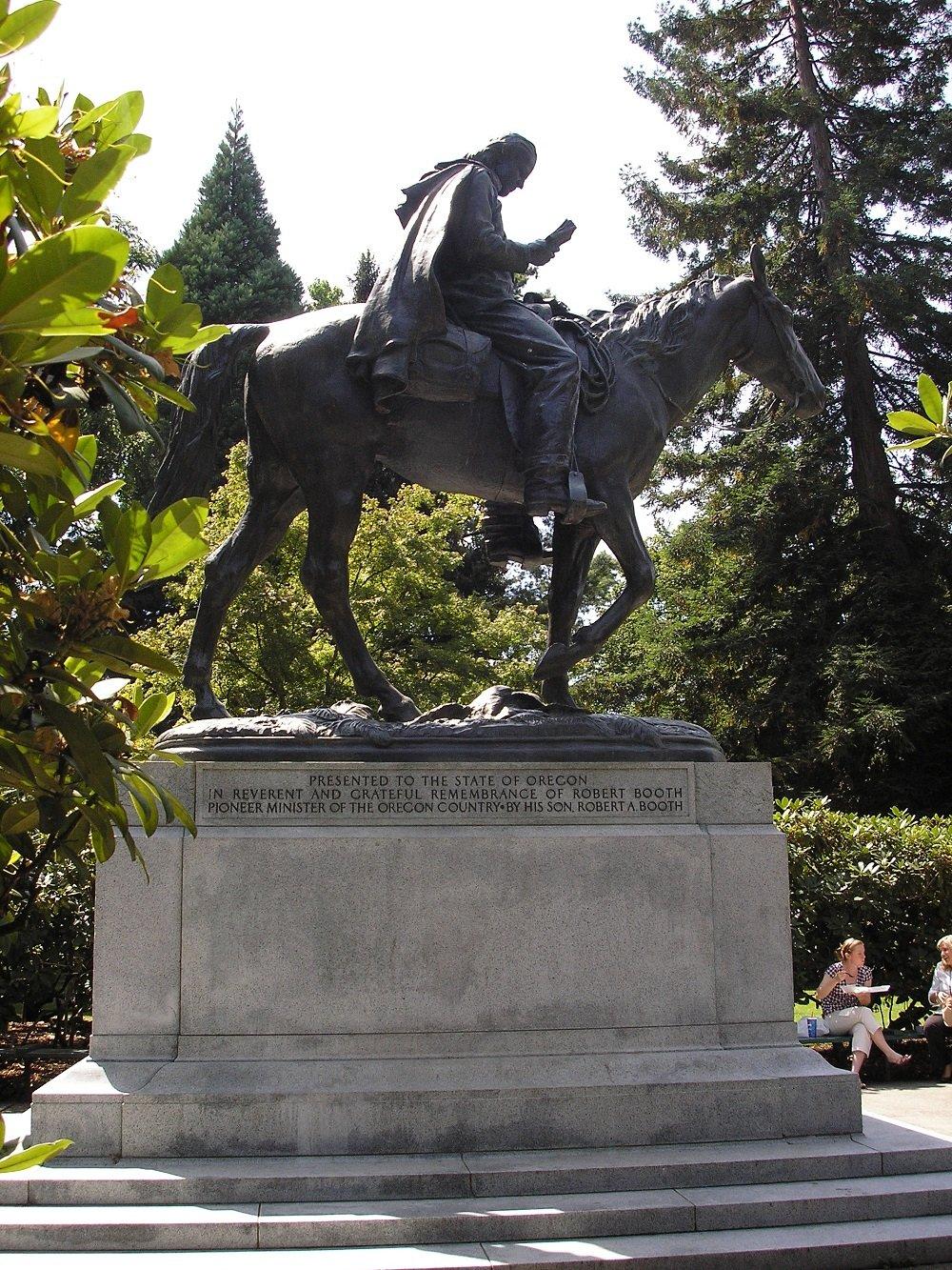 Circuit Rider statue