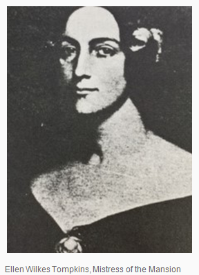 Ellen Wilkes Tompkins, wife of Colonel Christopher Q. Tompkins