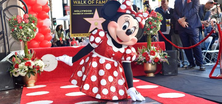 minnie mouse on the Walk of Fame