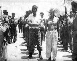 Prisoners held in the Bay of Pigs