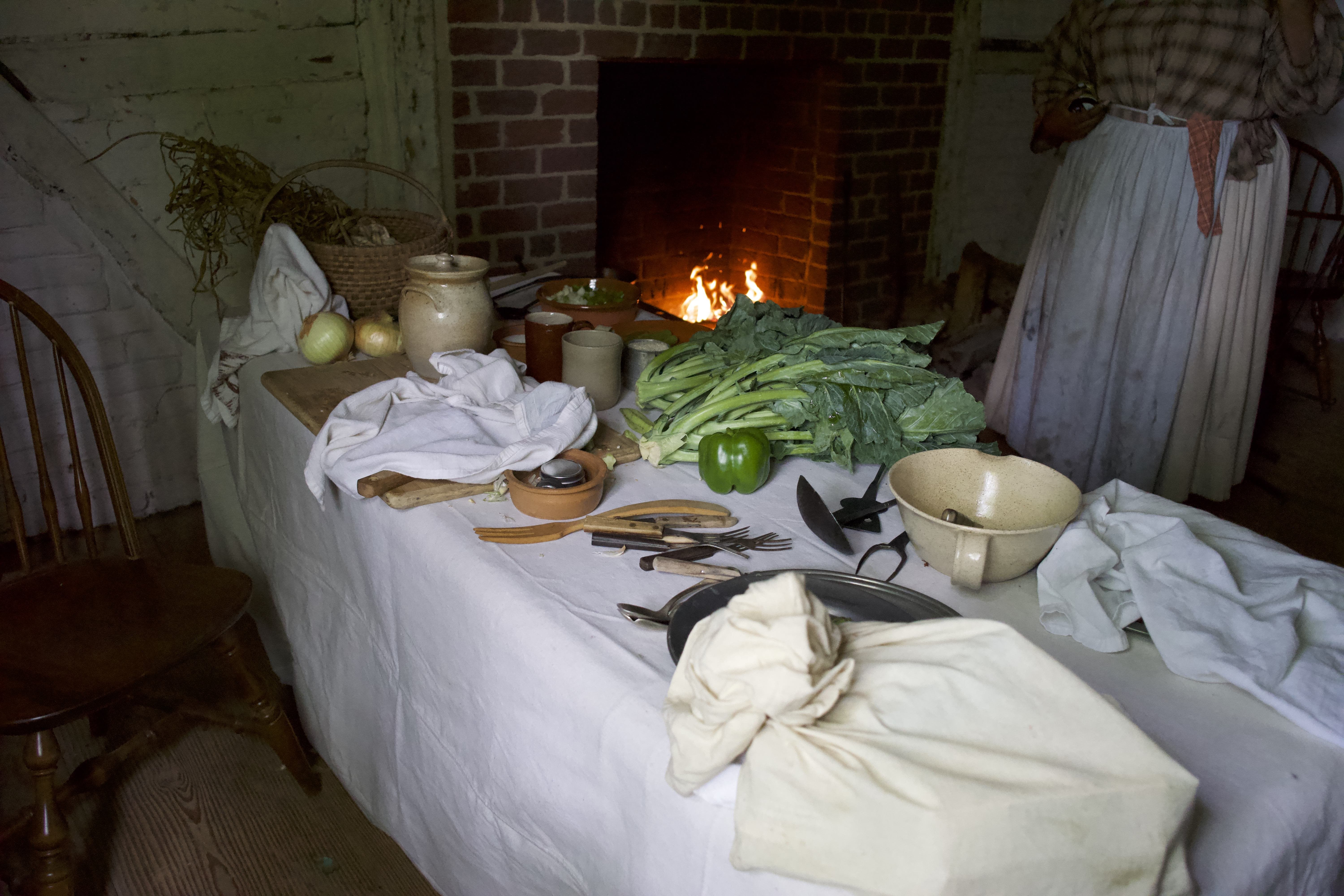 Juneteenth Commemoration: Hearth Cooking Demonstration
