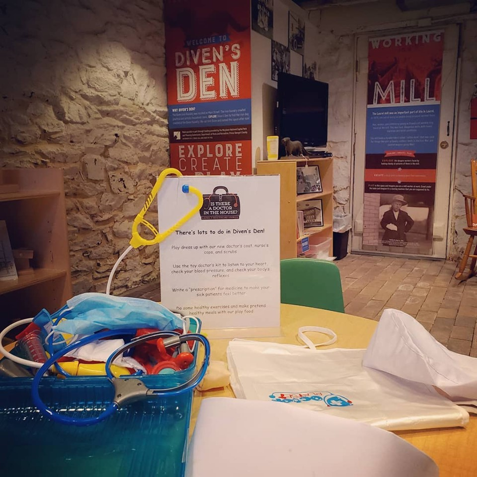Diven's Den is an interactive area that encourages STEAM-based free play.